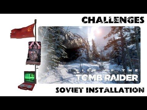 Rise of Tomb Raider - Arkeoloji - Soviet installation - Data Corruption Challenge