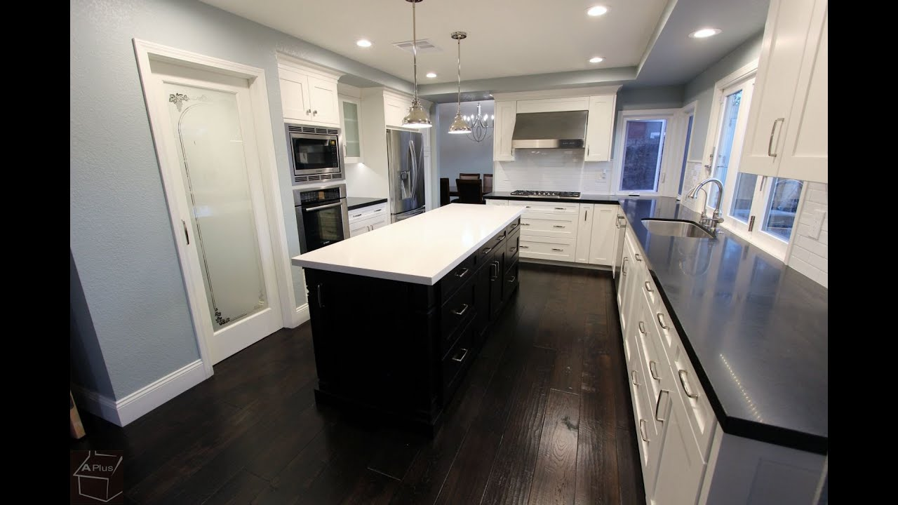 transitional design build home & kitchen remodel in irvine by aplus