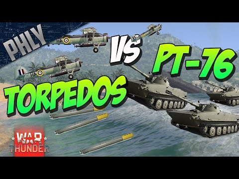 PT-76 VS TORPEDOS - EPIC Custom BATTLE! - War Thunder Gamepl