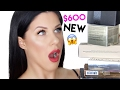 $600 OF NEW MAKEUP TESTED!! FULL FACE OF FIRST IMPRESSIONS!!