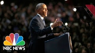 President Barack Obama's Farewell Address (Full Speech) | NBC News thumbnail