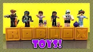 Roblox Toys - New Collection! | Opening 6 Mystery Boxes From the Gold Collection aka Series 3