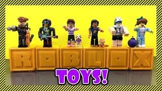 Roblox Toys - Nouvelle Collection! Ouverture de 6 boîtes mystères de la collection d'or aka Série 3