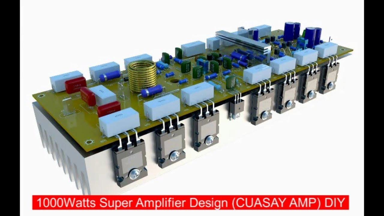 1000w Super Amplifier Supply 100dcv 0 100dcv Circuit Design Thunder Sound Youtube