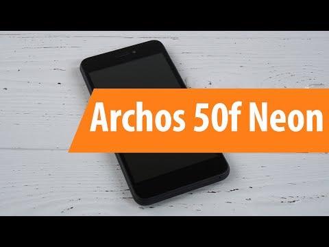 Распаковка Archos 50f Neon / Unboxing Archos 50f Neon