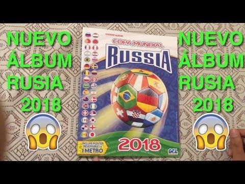 NUEVO ÁLBUM DEL MUNDIAL RUSIA 2018 EN PERÚ