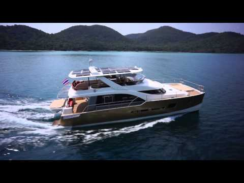 Heliotrope Solar Assisted Power Catamaran Yacht