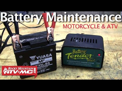 Motorcycle Battery Maintenance - How to Extend the Life of