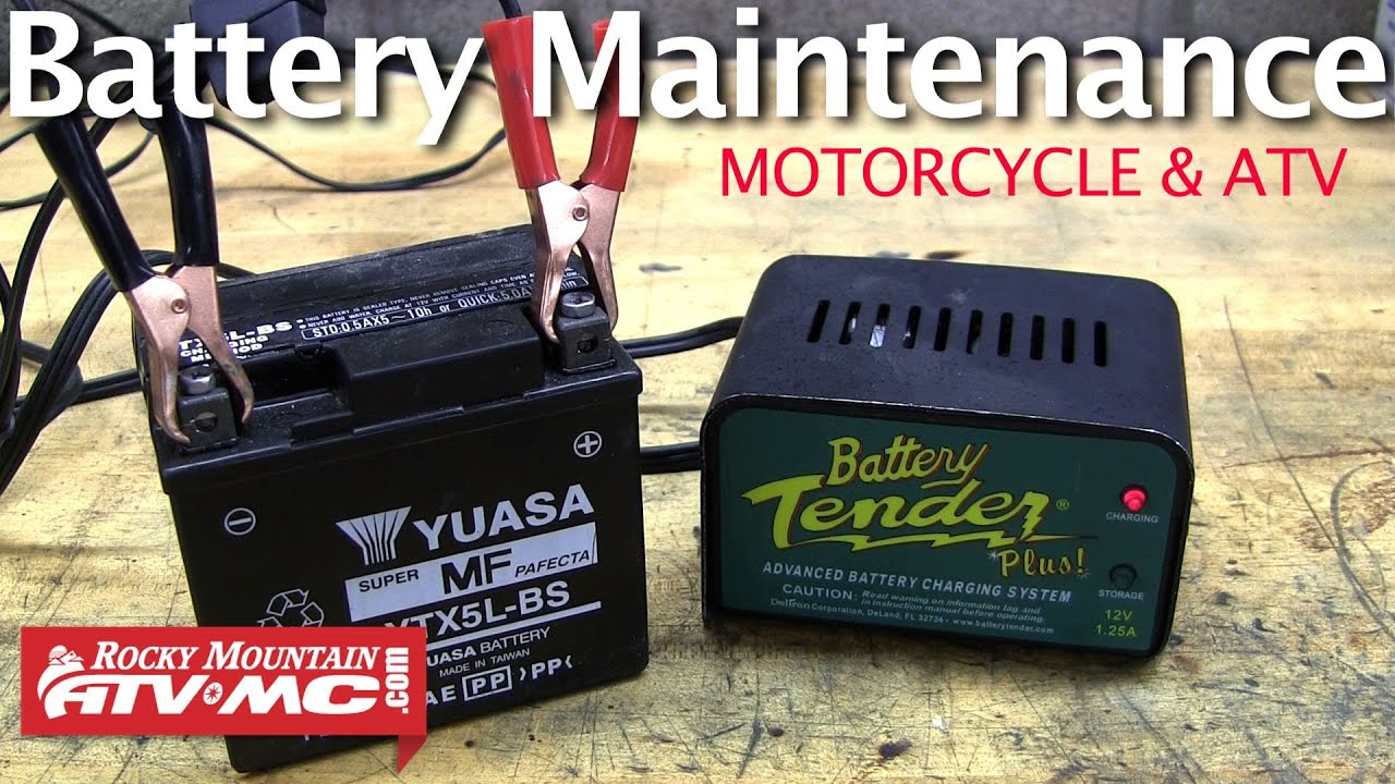 Motorcycle Battery Maintenance How To Extend The Life Of Your