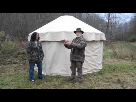 American Yurt at the Pathfinder School Intro