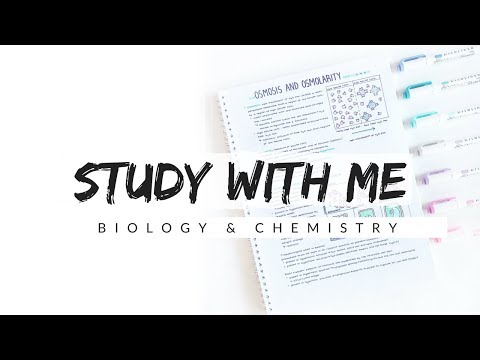 Study With Me - Biology and Chemistry | Study Motivation | studytee streaming vf