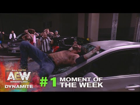 MUST SEE Santana and Ortiz vs Best Friends in a Parking Lot Fight | AEW Dynamite, 9/16/20
