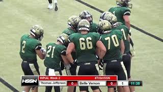 WPIAL Football - Thomas Jefferson at Belle Vernon