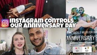 Instagram Followers Control our Anniversary Day