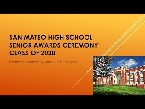 Senior Awards Ceremony Class of 2020 - San Mateo High School