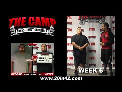 Bakersfield Weight Loss Fitness 6 Week Challenge Results - Rodney M.