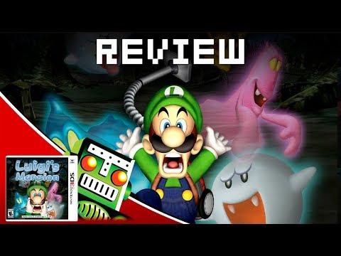 Review: Luigi's Mansion (3DS)