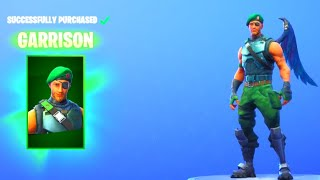 "Fortnite: ""GARRISON"" Skin! - FIREWORKS TEAM LEADER Came BACK! (Fortnite Daily Item Shop) + V-Bucks!"
