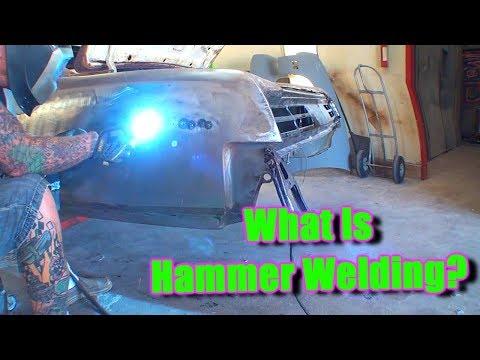 """What Is """"HAMMER WELDING"""" - Mig Welding Tech Tips"""