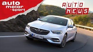 Opel Insignia (2018): Neuer Benziner mit 200PS - NEWS I auto motor und sport