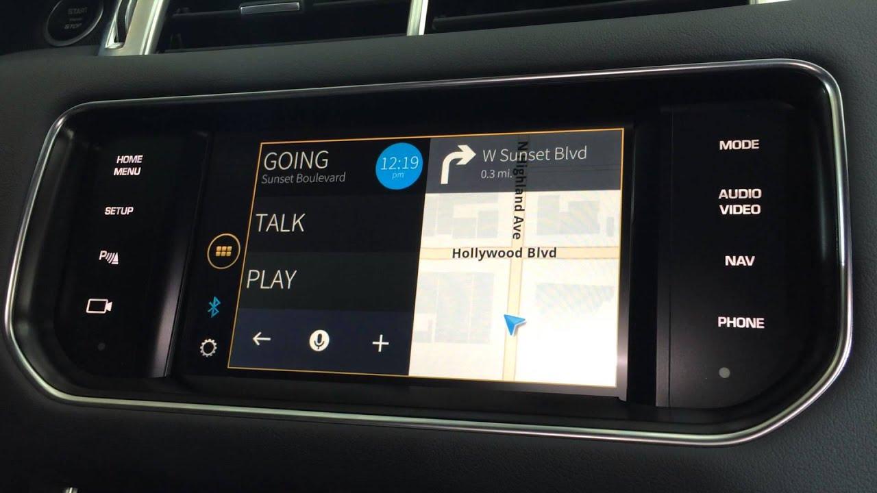 Jaguar Land Rover justDrive App Demo
