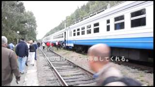 バイカル湖 観光列車
