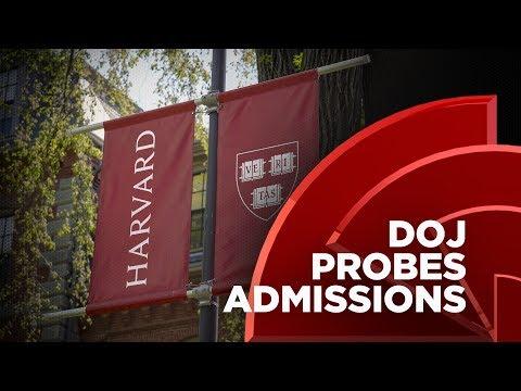 Sessions, DOJ Investigate Harvard University