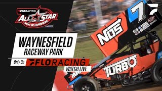 LIVE: FloRacing All Star Heat Races   Ohio Speedweek at Waynesfield Raceway 6.16.2021