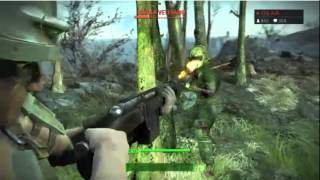 Fallout 4 - 3 minutes of leaked gameplay