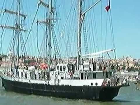 TALL SHIPS RACES 2012 - LARGADA DE LISBOA