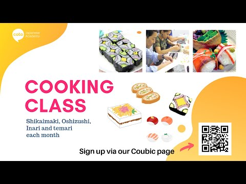 Cooking Class (Shikaimaki / Oshizushi / Inari & Temari)