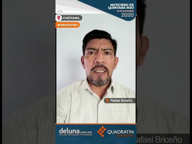 NOTICIERO DE QUINTANA ROO 20 DE NOVIEMBRE 2020
