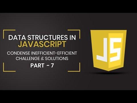 Data Structures in JavaScript   Inefficient-Efficient Challenge & Solution   Part 7   Eduonix thumbnail