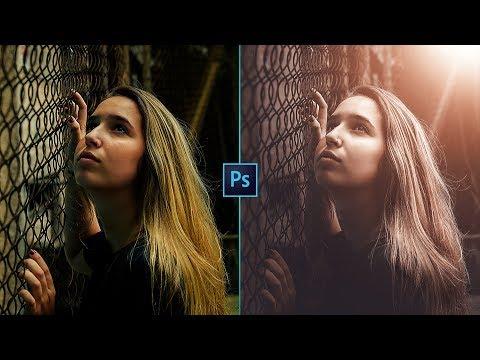 Create Amazing Light Flares & Haze In Photoshop   Photo Effects   FREE PRESET
