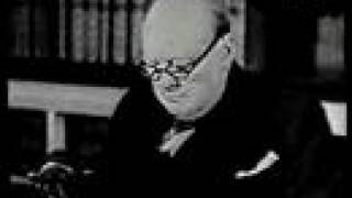 Winston Churchill: German surrender announcement May 7, 1945