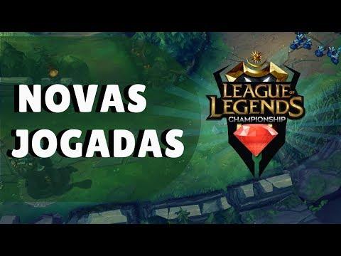 """""""NOVO"""" LEAGUE OF LEGENDS LEVA JOGADORES A TROCAREM DE POSIÇÃO EM ESTRATÉGIA thumbnail"""
