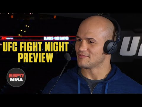 Junior Dos Santos looking to impose his will vs. Curtis Blaydes | UFC Live | ESPN MMA
