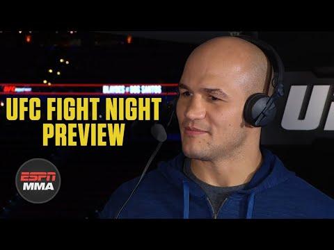 Junior Dos Santos looking to impose his will vs. Curtis Blaydes | UFC Live | ESPN MMA