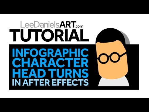 After Effects Tutorial   Infographic Character Head Turns