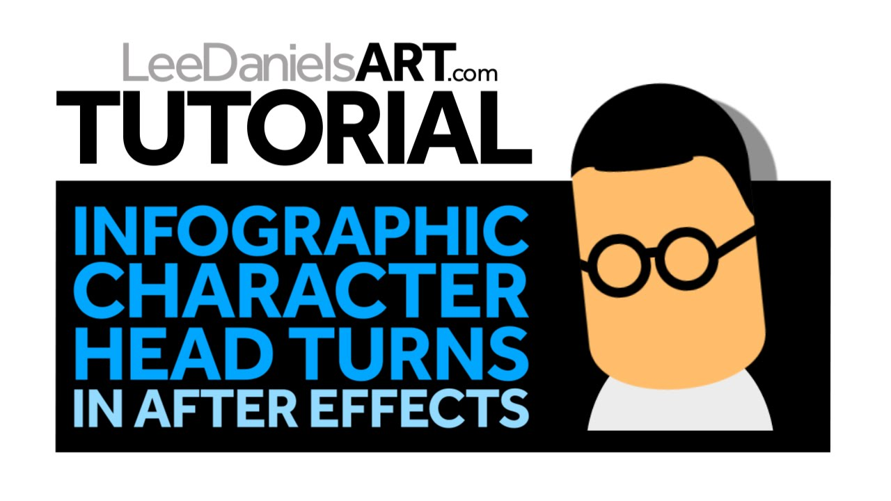 After Effects Tutorial | Infographic Character Head Turns ...