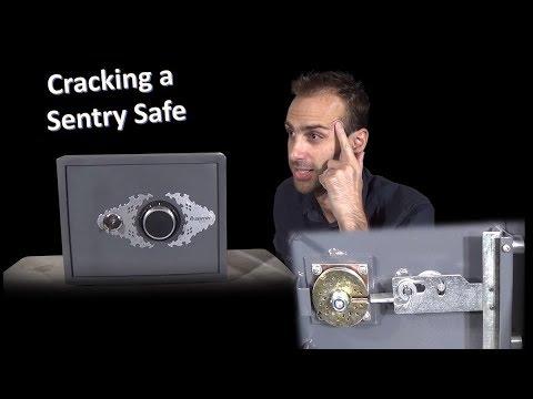 How to crack a SentrySafe - dual lock safe