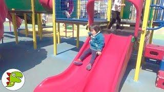 外遊び おでかけしたよ❤大きい公園に遊びに行ってきた Toy Kids トイキッズ anpanman thumbnail