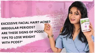 Facial Hair Acne Irregular Periods Signs of PCOS | Tips to lose weight with PCOS || Ashtrixx