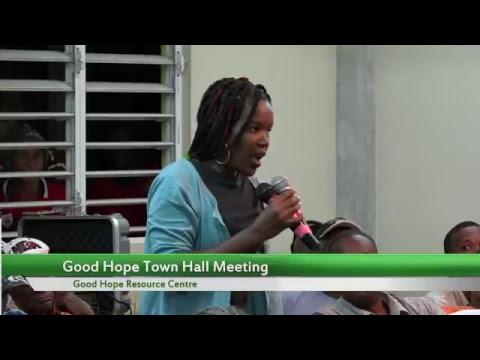 Good Hope Town Hall Meeting
