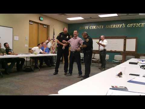 Guy Asks To Get Tased By Officer