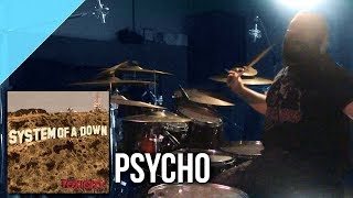 "System of a Down - ""Psycho"" drum cover by Allan Heppner"