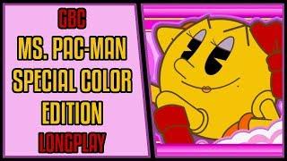 Ms. Pac-Man: Special Color Edition - GBC Longplay/Walkthrough #90 [4Kp60]