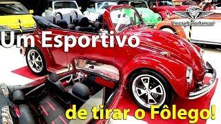UM FUSCÃO DE TIRAR O FÔLEGO! Fusca conversível, super esportivo, Vermelho! Trocar Autos Antigos