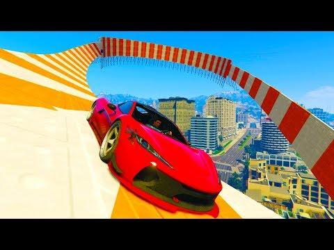 SALTO INCREIBLE NARANJA! - CARRERA GTA V ONLINE - GTA 5 ONLINE