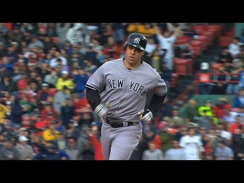 NYY@BOS: Teixeira collects three homers and five RBIs